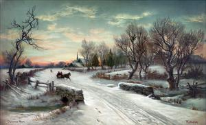 Christmas Morn, C1885 by W.C. Bauer