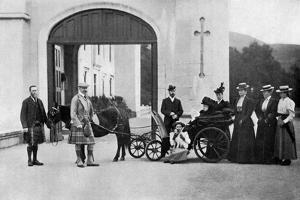 The Czars Visit to Balmoral, 1896 by W&d Downey