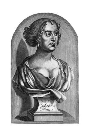 Katherine Philips Bust