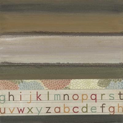 Alphabet II by W. Green-Aldridge