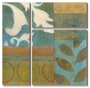 Bronze Leaf Quadrant I by W. Green-Aldridge