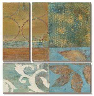 Bronze Leaf Quadrant II by W. Green-Aldridge