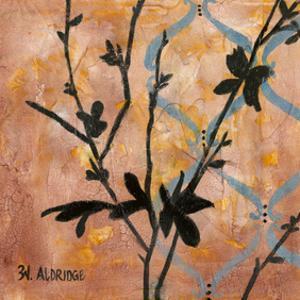 Modern Tree in Black I by W. Green-Aldridge
