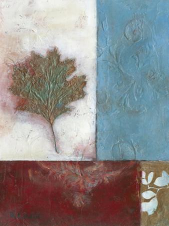 Painterly Leaf Collage II by W. Green-Aldridge