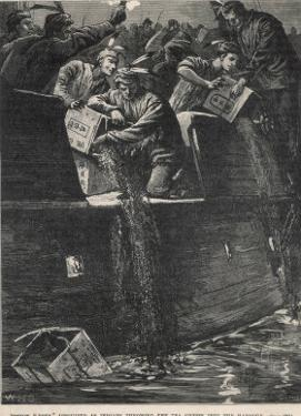 Boston Tea Party 1773 by W.h. Overend
