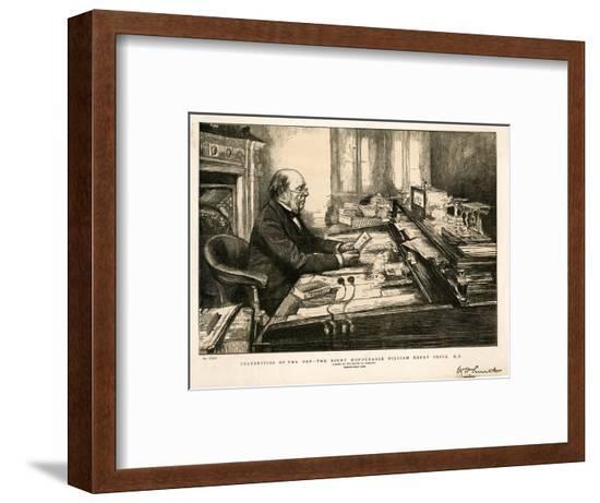 W H Smith--Framed Giclee Print
