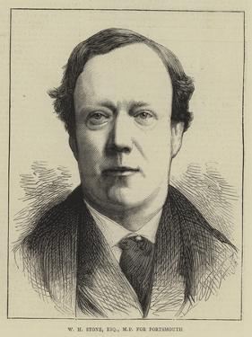 W H Stone, Esquire, Mp for Portsmouth