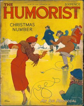 The Humorist Christmas Number 1938 - an Ice Proposal by W. Heath Robinson