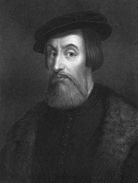 Hernan Cortes, 16th Century Spanish Conquistador by W Holl