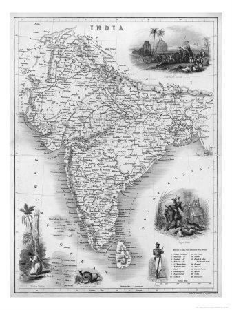 India Under British Rule About the Time of the Mutiny