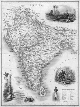India Under British Rule About the Time of the Mutiny by W. Hughes