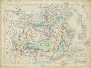 Map of China by W. Hughes