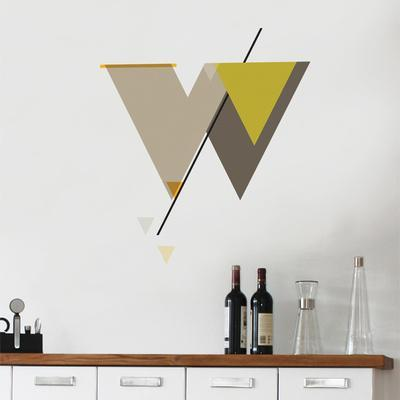W Letter Wall Decal