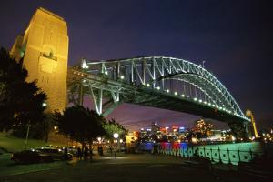 Sydney Harbour Bridge by W. Perry Conway