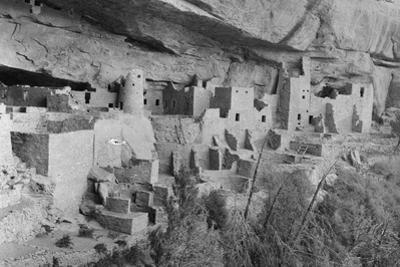 Cliff Palace at Mesa Verde by W.R. Chapline