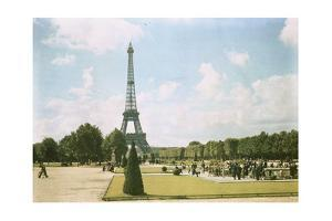 A Park Surrounding the Eiffel Tower by W. Robert Moore