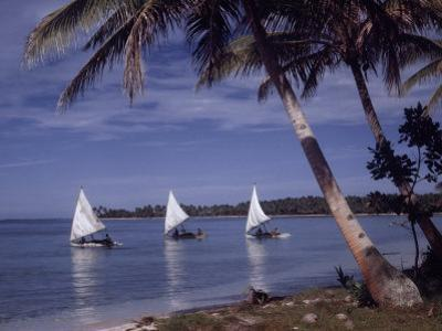 Islanders Visit Various Atolls to Sell and Purchase Goods