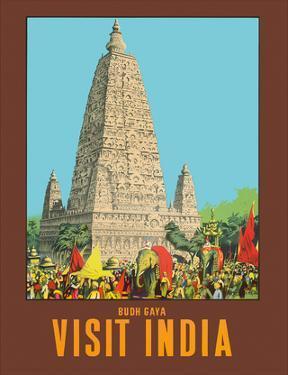 Visit India - Bodh Gaya - Mahabodhi Temple - Bihar, India by W.S Bylityllis