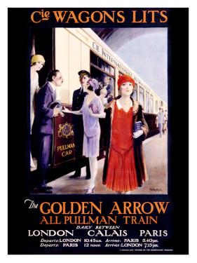 Wagons Lits, The Golden Arrow by W.S. Bylityplis