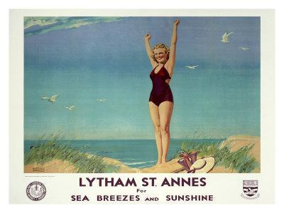 Lytham St. Annes for Sea Breezes and Sunshine