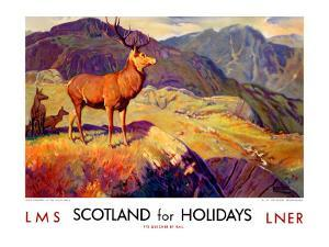 Scotland for Holidays by W^ Smithson Broadhead