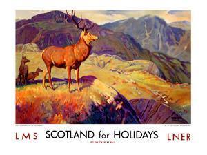 Scotland for Holidays by W. Smithson Broadhead