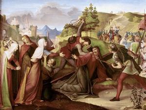 Christ on His Way to Golgotha by W. Von Schadow