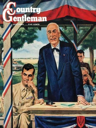 """""""Buy War Bonds,"""" Country Gentleman Cover, July 1, 1944"""