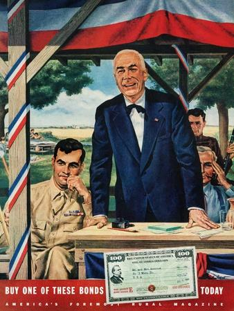 """Buy War Bonds,""July 1, 1944"