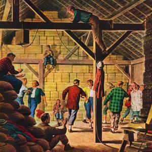 """Square Dance in the Barn,""November 1, 1947 by W.W. Calvert"