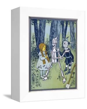 Wizard of Oz: Dorothy Oils the Tin Woodman's Joints by W.w. Denslow