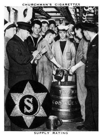 Supply Rating, 1937