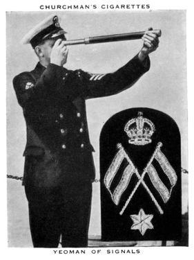 Yeoman of Signals, 1937 by WA & AC Churchman
