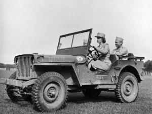 Wac Driving Jeep