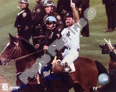Wade Boggs - World Series Celebration On Horse