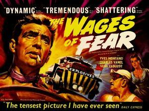 Wages of Fear, UK Movie Poster, 1953