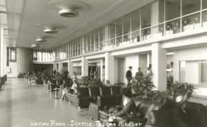 Waiting Room, Seattle-Tacoma Airport, Washington
