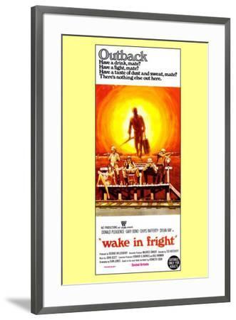 Wake in Fright--Framed Poster