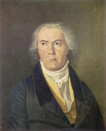 Ludwig Van Beethoven German Composer Portrait by Waldmuller