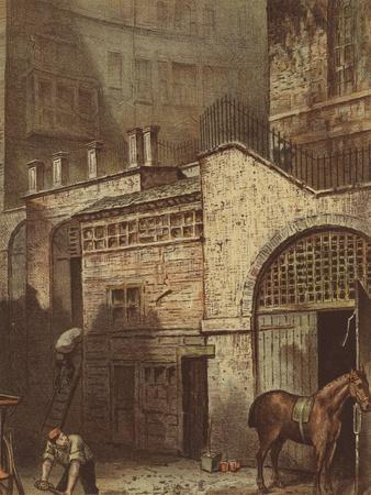 Buildings and Stairs, Bottom of Salisbury Street, Adelphi, Strand