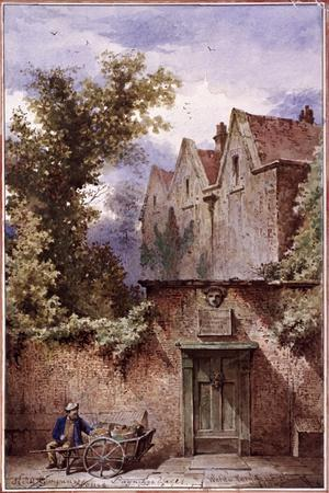 Nell Gwynne's House, Bagnigge Wells, St Pancras, London, 1865
