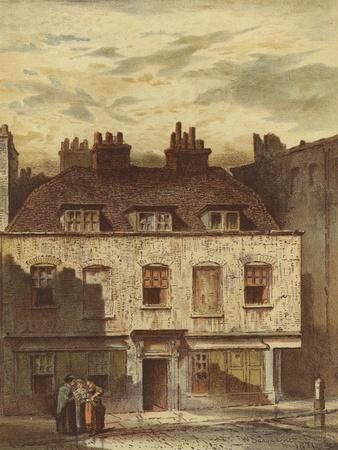 Old Houses, Dyott Street, Bloomsbury
