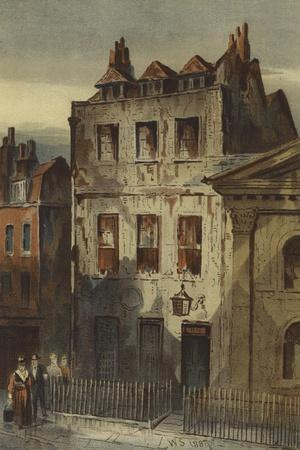 Sir Isaac Newton's House, St Martin's Street, Leicester Square