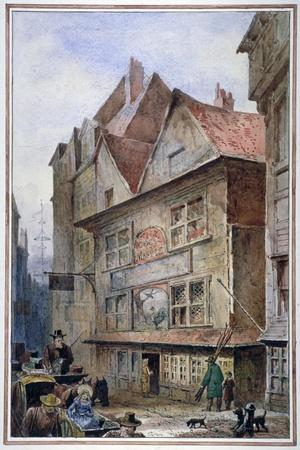 The Cock and Magpie Tavern, Drury Lane, Westminster, London, 1862
