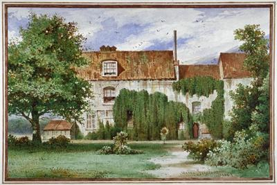 View of Sandford Manor House, Waterford Road, Chelsea, 1869