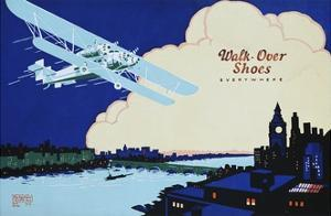 Walk-Over Shoes Everywhere Advertisement Poster