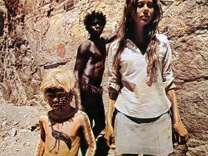 Walkabout, Lucien John, David Gulpilil, Jenny Agutter, 1971