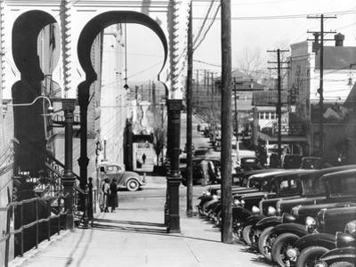 A street in Vicksburg, Mississippi, 1936 by Walker Evans