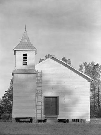 Church in the Southeastern U.S., c.1936 by Walker Evans