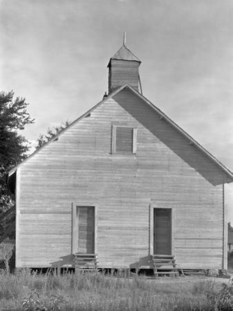 Church in the Southeastern U.S., c.1936 by Walker Evans